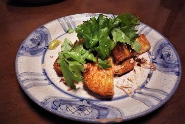薩摩揚げスープセロリ