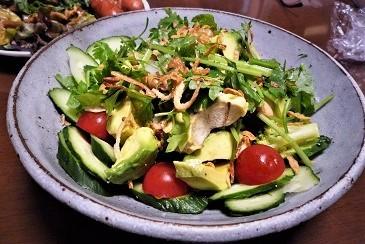 緑アボカドサラダ