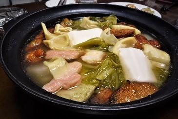 おでん風野菜鍋