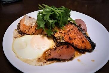 鮭の中華焼き