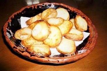 自家製ポテト焼き