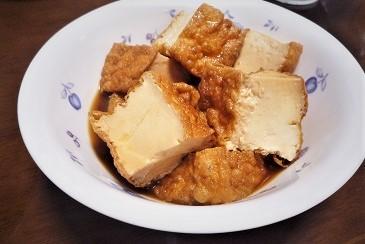 豆腐屋さんの油揚