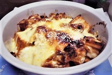 アボカド厚揚げチーズ焼き