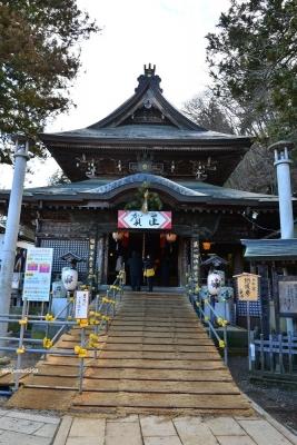 2020年1月9日 上田市別所温泉 北向観音