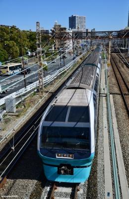 2020年2月18日 JR東日本横須賀線 新川崎~横浜 251系RE-1編成