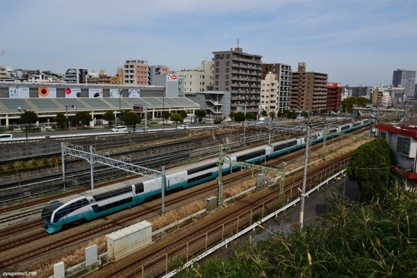 2020年3月13日 JR東日本東海道本線 川崎~横浜 251系