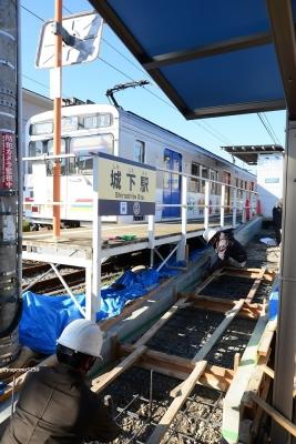 2020年3月19日 上田電鉄別所線 城下 1000系1002編成