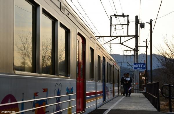 2020年2月7日 上田電鉄別所線 中野 1000系1002編成