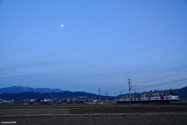 2020年2月7日 上田電鉄別所線 舞田~中野 1000系1002編成