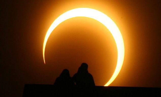金環日蝕20206
