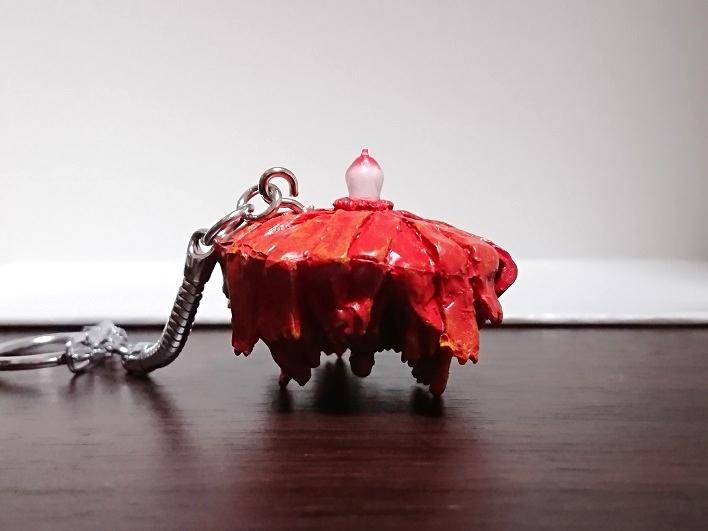 円盤生物 シルバーブルーメ 恐怖の円盤生物キーホルダー! キャスト2