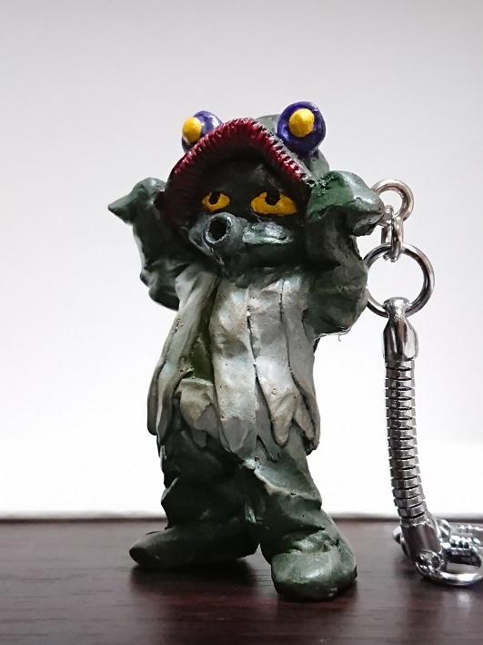 円盤生物 星人ブニョ 恐怖の円盤生物キーホルダー! キャスト