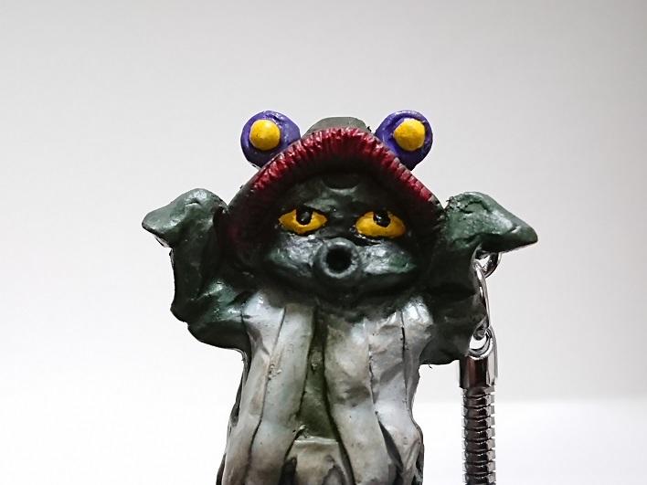 円盤生物 星人ブニョ 恐怖の円盤生物キーホルダー! キャスト4