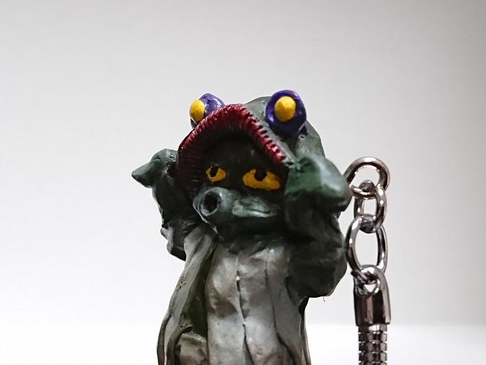 円盤生物 星人ブニョ 恐怖の円盤生物キーホルダー! キャスト5