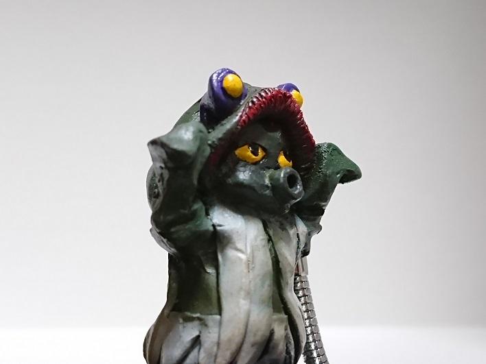 円盤生物 星人ブニョ 恐怖の円盤生物キーホルダー! キャスト6