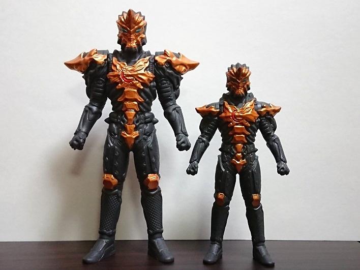 中国限定ソフビ ウルトラ怪獣シリーズ ジャグラスジャグラー7