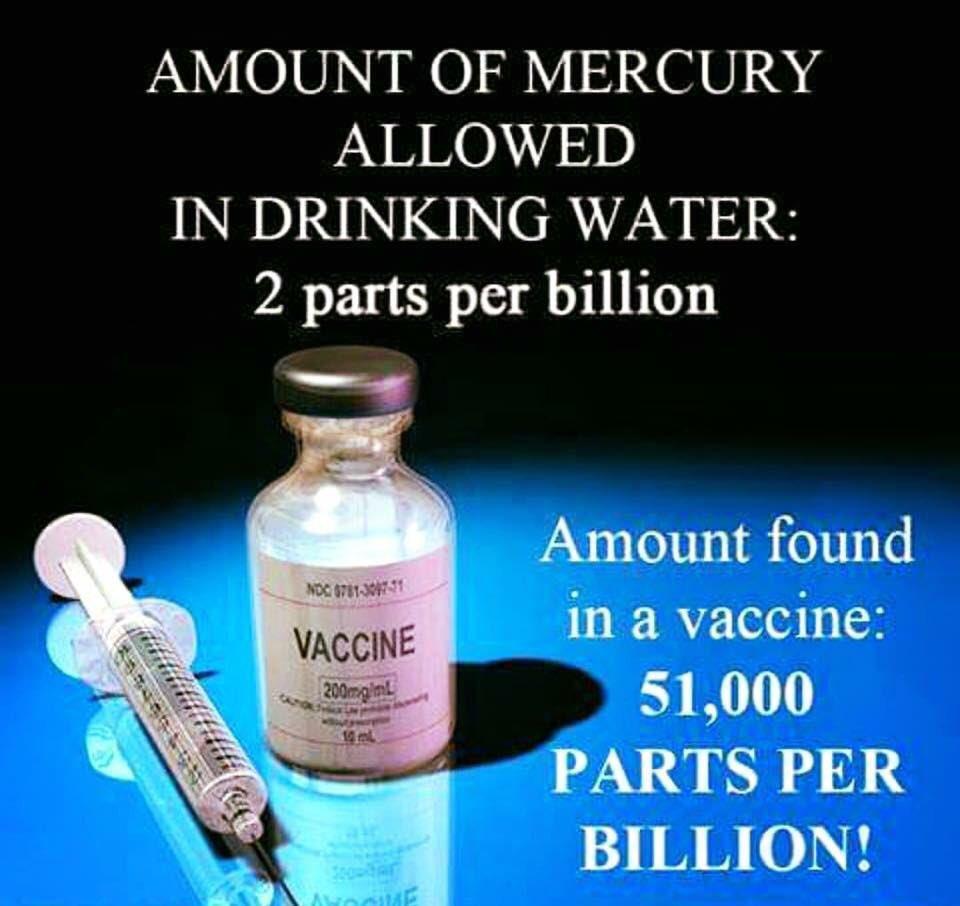 ワクチン 水銀量