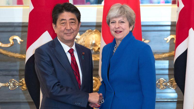 安倍総理 メイ首相