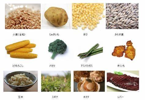 ケイ素 食べ物