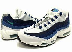 靴 エアマックス95 青