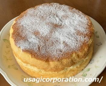 2020 0610 カスタードケーキ