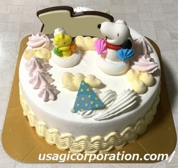 2020 0822 誕生日ケーキ