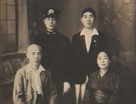 石丸進一_最期の家族写真