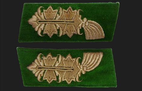 Kragenspiegel für Generalmajor der Polizei_1st pattern