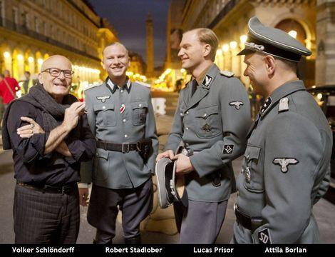 Volker Schlöndorff_Robert Stadlober_Lucas Prisor_Attila Borlan