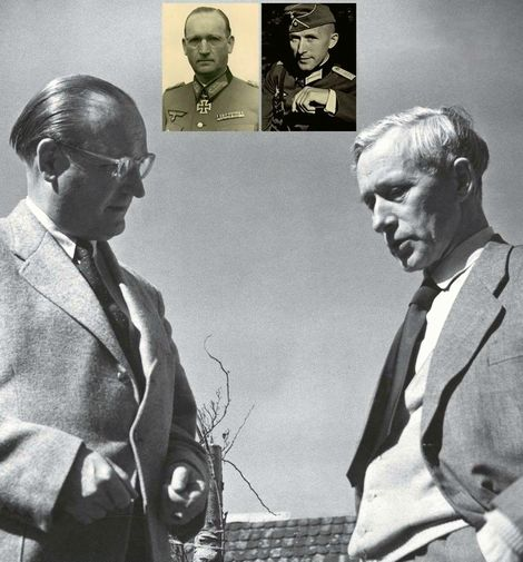 Hans Speidel und Ernst Jünger in der Nachkriegszeit