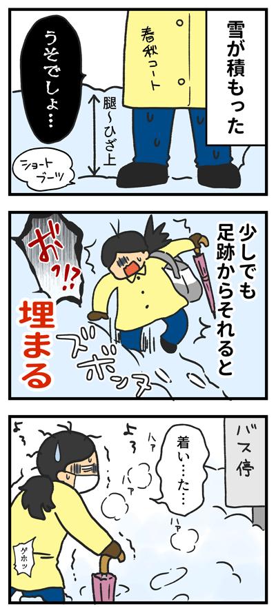 積雪 防寒具